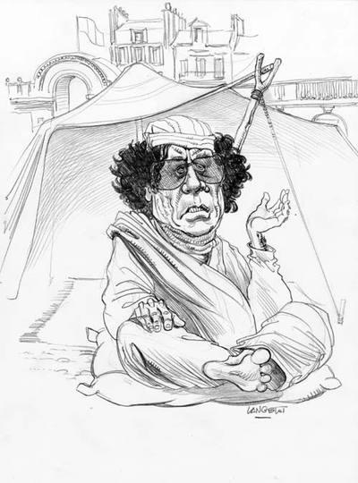 Gadafi à Paris ...  18