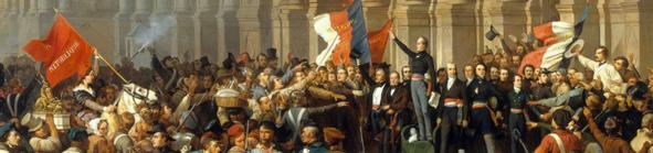 Quand Lamartine refusait l'entrée du drapeau rouge à l'Hôtel-de-Ville