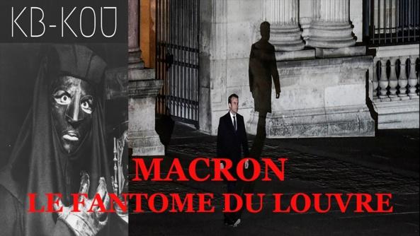 Macron et le train de l'épouvante