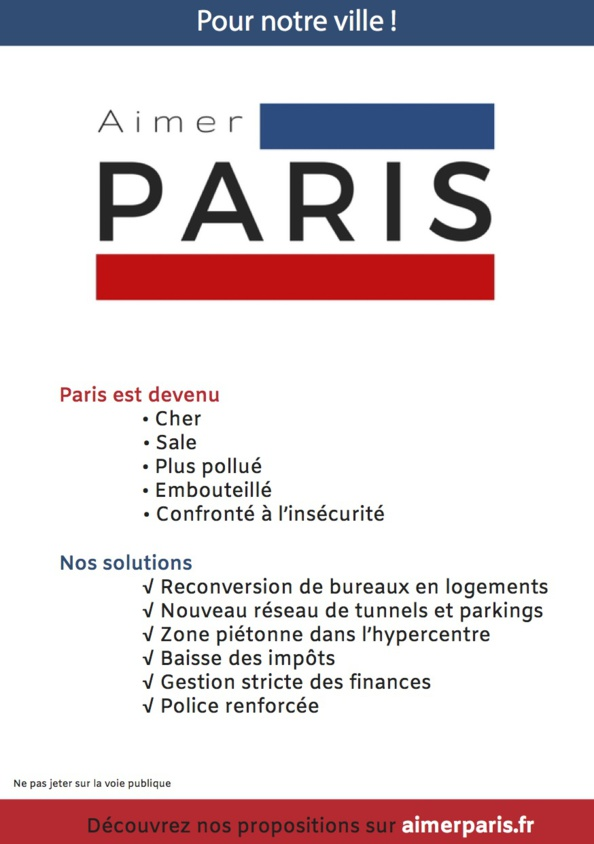 Participez aux prochaines actions militantes d'Aimer Paris !