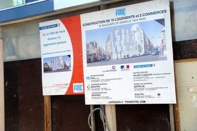 Logements sociaux de la ville de Paris : l'immobile promotion !