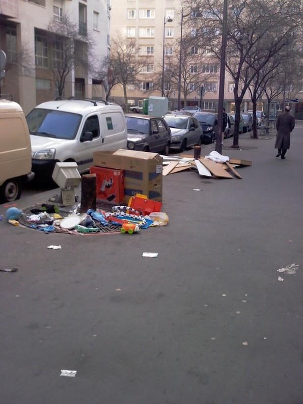 Saleté de Paris : votre mairie s'en lave les mains !