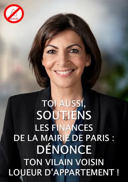 Baisse de la population parisienne : Stupidalgo ne manque pas d'Airbnb !