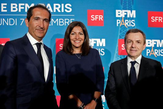 Hidalgo, Drahi (SFR) et Weil (BFM), tiercé dans le désordre