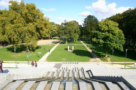 Le Parc de Bercy : première victime des J.O. !