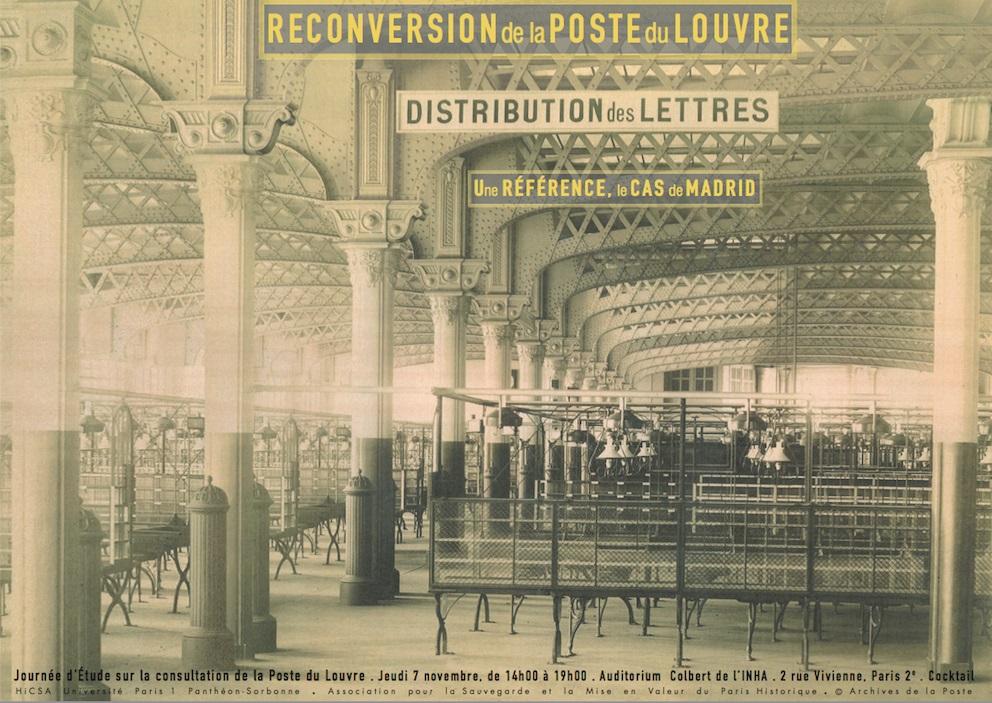 Pour la poste du Louvre