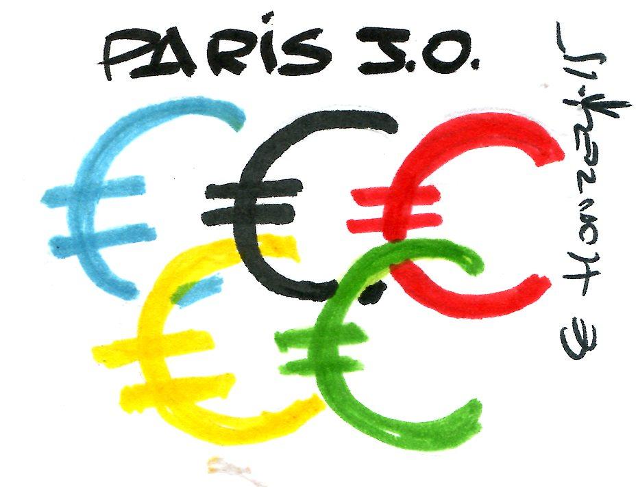 100 % des Parisiens contre les JO !